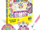 Https Uniquely Creative Card Making Kits Creativity for Kids Big Gem Diamond Painting Kit Create Your Own Magical Stickers Suncatchers Diamond Art for Kids