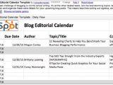 Hubspot Editorial Calendar Template 5 Outils Gratuits Pour Creer Un Calendrier Editorial De