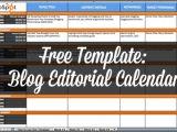 Hubspot Editorial Calendar Template Blog Editorial Calendar Template Great Printable Calendars
