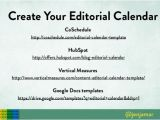 Hubspot Editorial Calendar Template Small Business Guide to Content Strategy
