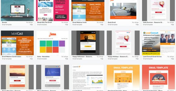 Hubspot Email Marketing Templates 9 Places to Find Quality Email Newsletter Templates In 2017