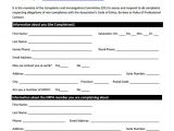 Human Resource forms and Templates 23 Hr Complaint forms Free Sample Example format