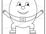 Humpty Dumpty Puzzle Template Humpty Puzzle Activity Print Th