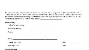 Husband and Wife Contract Template Free Basic Contract Husband and Wife to Husband and Wife