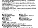 Hvac Engineer Resume Hvac Project Engineer Resume Sample Engineering Resumes