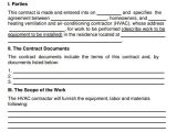 Hvac Installation Contract Template Service Agreement 7 Free Pdf Doc Download