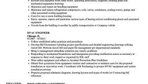 Hvac Maintenance Engineer Resume Hvac Engineer Resume Samples Velvet Jobs