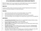 Hvac Project Engineer Resume Hvac Design Engineer Cv Cover Letter Samples Cover