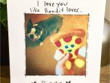 I Love You Greeting Card I Love You Funny Boston Terrier Card Love Card Unique