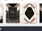 Id Card Background Design Hd Gold Black White Marble Template Artistic Covers Design