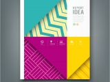 Id Card Background Design Hd Report Design Colorful Pattern Fabrics Background