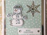 Ideas for Christmas Card Designs Stampin Up Seasonal Tags Seasonal Chums Mit Bildern
