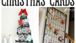 Ideas for Christmas Card Display 15 Fun Ways to Display Christmas Cards Christmas Card