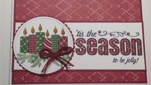 Ideas for Christmas Card Making Christmas Card Stampin Up Merry Patterns Stamp Set