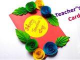 Ideas for Teachers Day Greeting Card Diy Teacher S Day Card Handmade Teacher S Day Card Diy