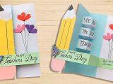 Ideas for Teachers Day Greeting Card Diy Teacher S Day Pop Up Card Handmade Teachers Day Card