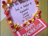 Ideas for Teachers Day Greeting Card Hm S Greetings Happy Teachers Day Card 1