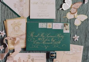 Ideas for Wedding Card Invitation the Best Vintage Wedding Invitations Martha Stewart Weddings