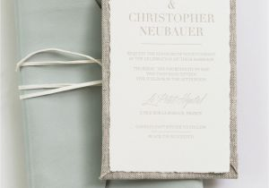 Ideas for Wedding Card Invitation Yonder Design Leather Envelope Linen Invitation Linen