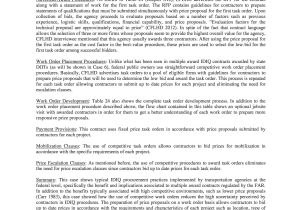 Idiq Contract Template Appendix D Idiq Contract Examples Case Details