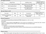 Iit Students Resume Can Iitians Share their Resume How Did You Prepare Your