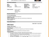 Image Of Resume for Job Application 8 Cv Sample for Job Application 2016 theorynpractice