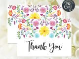Image Of Thank You Card Editable File Fiesta Thank You Card Mexican Bridal Shower