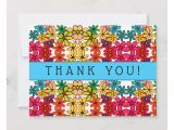 Image Of Thank You Card Flower Power Abstract Kaleidoscope Pattern Thank You Card