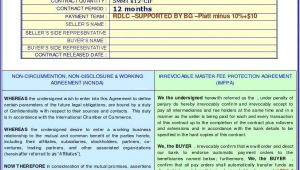 Imfpa Contract Template Ncnda Imfpa Template 1 Word