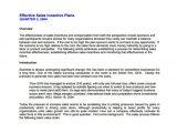 Incentive Proposal Template 7 Sales Plan Template Pdf Doc Free Premium Templates