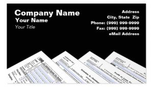 Income Tax Business Card Templates Income Tax Preparer Business Card Templates Bizcardstudio