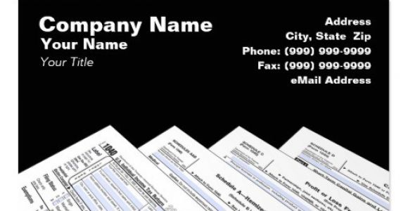 Income Tax Business Card Templates Income Tax Preparer Business Card Templates Bizcardstudio