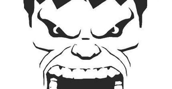 Incredible Hulk Face Template Incredible Hulk A4 Airbrush Wall Art Paint Stencil Genuine