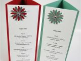 Independence Day Greeting Card Handmade Menu Card Featuring the Daisy Lane Bundle by Stampin Up