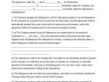 Independent Sales Rep Contract Template 12 Commission Agreement Templates Word Pdf Pages