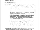 Independent Sales Rep Contract Template 9 Free Sample Sales Representative Agreement Templates