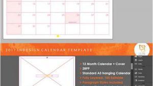 Indesign Calendar Template 2017 Indesign Calendar Template 2017 Calendar Template 2018