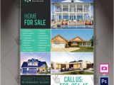 Indesign Real Estate Flyer Templates Real Estate Agency A4 Flyer Psd Template Indesign