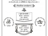 Indian Marriage Card In English Hindi Card Samples Wordings In 2020 Marriage Invitation