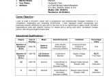 Indian Resume format In Word College Degree No Class Time Required Resume format for
