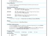 Indian Resume format In Word Resume format India Best Resume format Job Resume