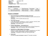 Indian Simple Resume format 7 Cv Indian format theorynpractice