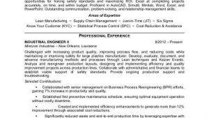 Industrial Engineer Resume Industrial Engineer Resume Sample Monster Com