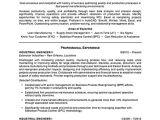 Industrial Engineer Resume Keywords Industrial Engineering Resume Sample Professional Resume