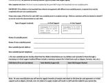 Informal Contract Template 10 Child Support Agreement Templates Pdf Doc Free