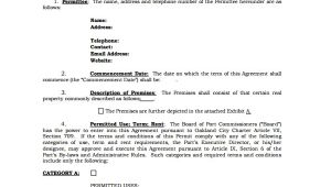 Informal Contract Template Sample Rental Agreement 19 Documents In Pdf Word