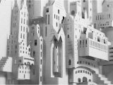 Ingrid Siliakus Templates Ingrid Siliakus Paper Art City Inhabitat Green Design