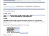 Installment Loan Contract Template Printable Sample Personal Loan Agreement form Laywers