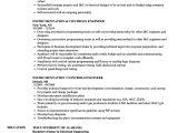 Instrumentation Engineer Resume Instrumentation Controls Engineer Resume Samples