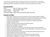 Instrumentation Engineer Resume Instrumentation Engineer Resume